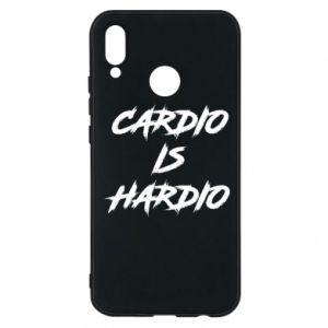 Huawei P20 Lite Case Cardio is hardio
