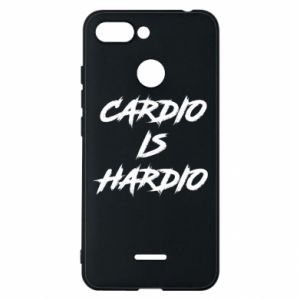 Xiaomi Redmi 6 Case Cardio is hardio