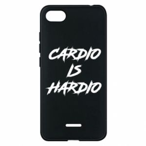 Xiaomi Redmi 6A Case Cardio is hardio