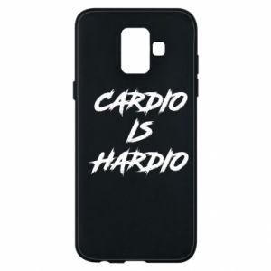 Samsung A6 2018 Case Cardio is hardio