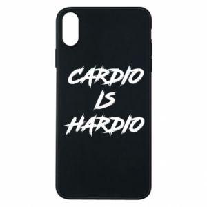 iPhone Xs Max Case Cardio is hardio