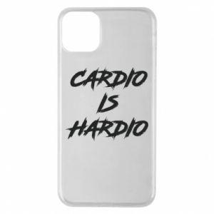 iPhone 11 Pro Max Case Cardio is hardio