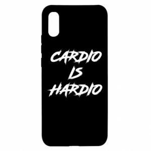 Xiaomi Redmi 9a Case Cardio is hardio