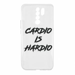 Xiaomi Redmi 9 Case Cardio is hardio