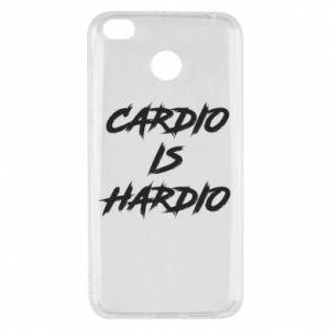 Xiaomi Redmi 4X Case Cardio is hardio