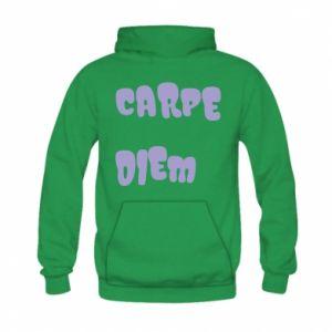 Bluza z kapturem dziecięca Carpe diem