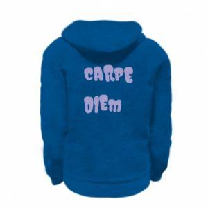 Bluza na zamek dziecięca Carpe diem
