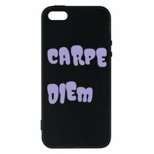 Etui na iPhone 5/5S/SE Carpe diem