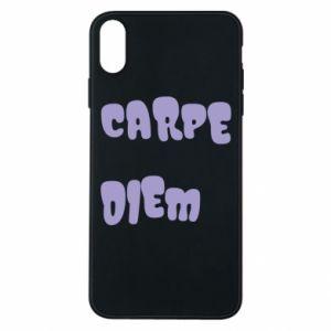 Etui na iPhone Xs Max Carpe diem