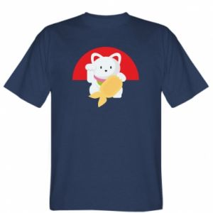 T-shirt Cat for luck