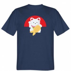 T-shirt Cat for luck - PrintSalon