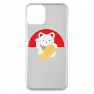 Phone case for iPhone 11 Cat for luck - PrintSalon