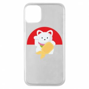 Phone case for iPhone 11 Pro Cat for luck - PrintSalon