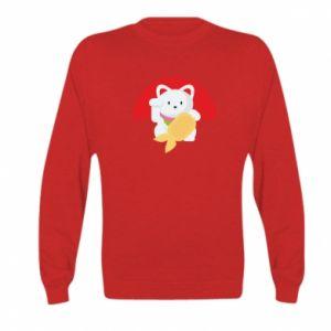 Bluza dziecięca Cat for luck