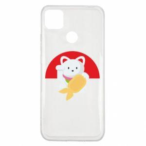 Etui na Xiaomi Redmi 9c Cat for luck