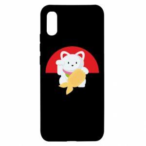 Etui na Xiaomi Redmi 9a Cat for luck