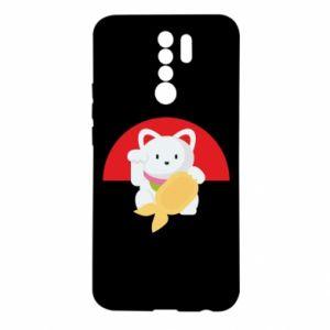 Etui na Xiaomi Redmi 9 Cat for luck