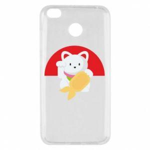 Etui na Xiaomi Redmi 4X Cat for luck