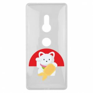 Etui na Sony Xperia XZ2 Cat for luck