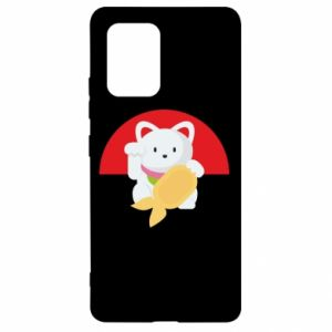 Etui na Samsung S10 Lite Cat for luck