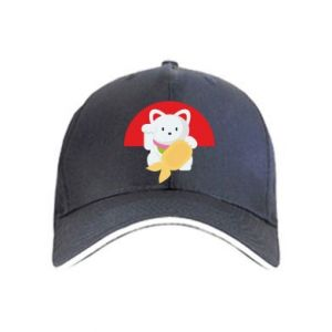 Cap Cat for luck