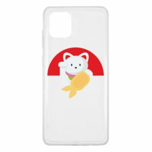 Etui na Samsung Note 10 Lite Cat for luck