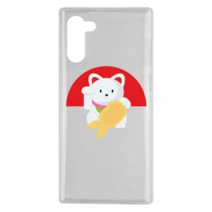 Etui na Samsung Note 10 Cat for luck