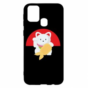 Etui na Samsung M31 Cat for luck