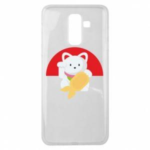 Etui na Samsung J8 2018 Cat for luck