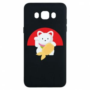 Etui na Samsung J7 2016 Cat for luck