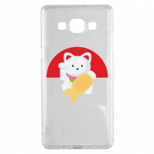 Etui na Samsung A5 2015 Cat for luck