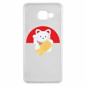 Etui na Samsung A3 2016 Cat for luck