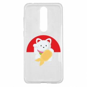 Etui na Nokia 5.1 Plus Cat for luck
