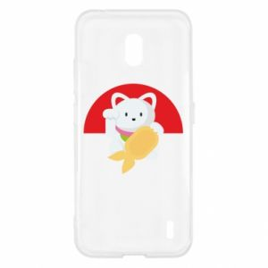Etui na Nokia 2.2 Cat for luck
