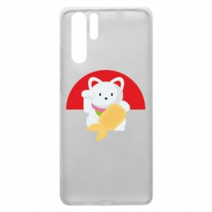 Etui na Huawei P30 Pro Cat for luck