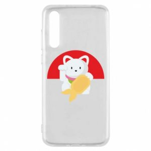Etui na Huawei P20 Pro Cat for luck