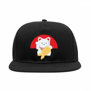 SnapBack Cat for luck