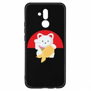 Etui na Huawei Mate 20 Lite Cat for luck