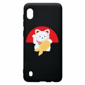 Etui na Samsung A10 Cat for luck