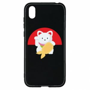 Etui na Huawei Y5 2019 Cat for luck