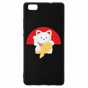 Etui na Huawei P 8 Lite Cat for luck