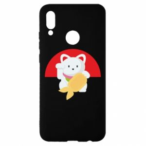 Etui na Huawei P Smart 2019 Cat for luck