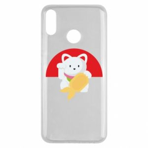 Etui na Huawei Y9 2019 Cat for luck