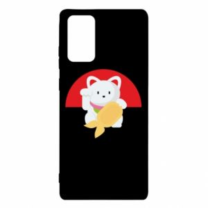 Etui na Samsung Note 20 Cat for luck