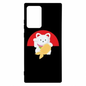 Etui na Samsung Note 20 Ultra Cat for luck