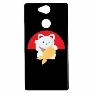 Etui na Sony Xperia XA2 Cat for luck