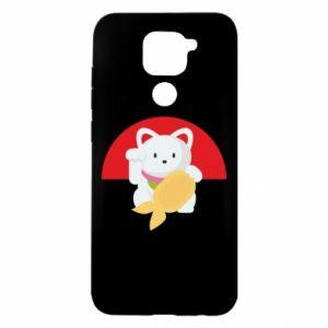 Etui na Xiaomi Redmi Note 9/Redmi 10X Cat for luck