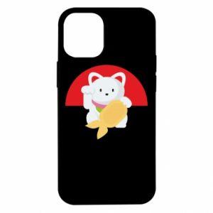 Etui na iPhone 12 Mini Cat for luck