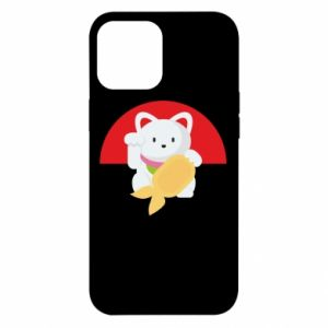 Etui na iPhone 12 Pro Max Cat for luck