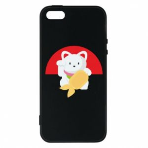 Phone case for iPhone 5/5S/SE Cat for luck